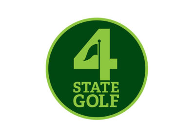 4-State Golf Logo Design by Kevin Robinson