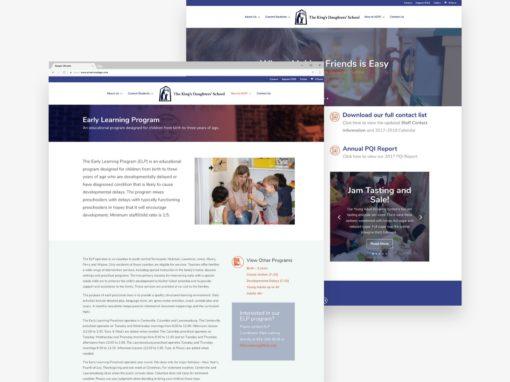 A Private School Website